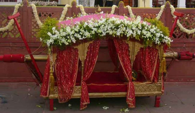 Special Entry for Bride Groom